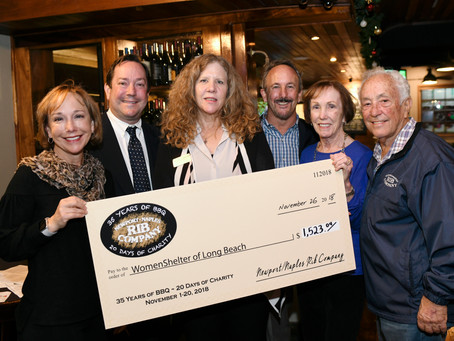 Over $45,000 Raised for Charities by Naples Rib Company