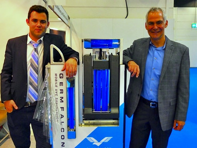 Local Father-Son Duo Invents Machine to Disinfect Airplanes, Classrooms, Restaurants and More