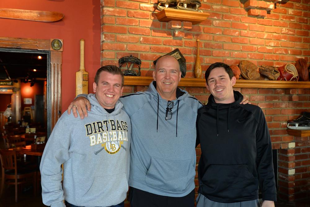 John Grossi, Coach Buckley, Paul Slater