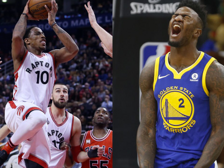 Local Products DeRozan and Bell Lead Teams in the NBA Playoffs
