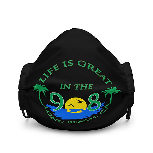 Life is Great in the 908 Large Logo Mask