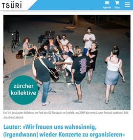 Lauter bei Tsüri.ch