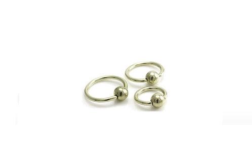 Micro (1.2 mm) Gold Anodised Titanium BCRs
