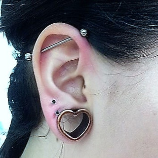 Scaffold/Industrial Piercing - £25