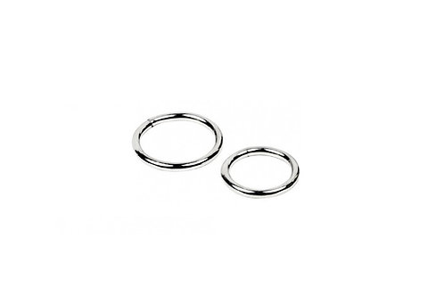 Titanium Hinged Segment Ring - 1.6 mm