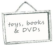 toys, books and movies
