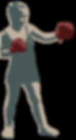 vintage boy boxer - Nelson Boxing Club