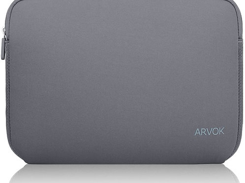 ARVOK 15-16 Inch 15.6 Inch Laptop Sleeve Case Grey