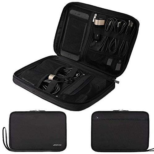 Arvok Electronics Organizer Travel Universal Accessories Bag