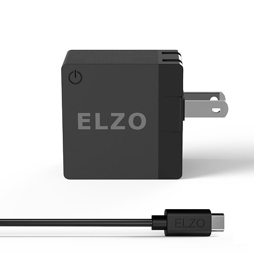 Elzo Quick Charge 2.0 18W USB Wall Charger Fast Charger (US&CA)