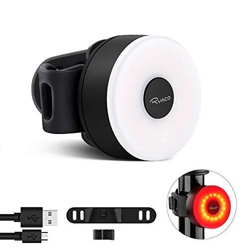 RYACO Bike Tail Light, Sport LED Rear Bike Light USB Rechargeable