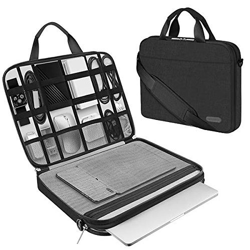 ARVOK 13 13.3 14 15 15.6 Inch Laptop Sleeve and Accessory Case with Strap&Handle