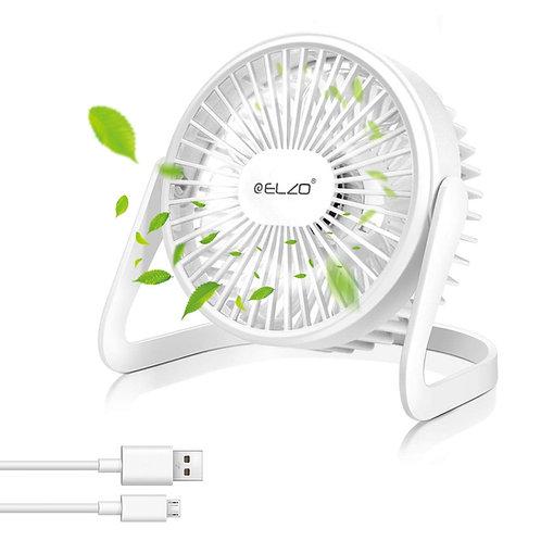 ELZO USB Fan - Mini Silent Fan