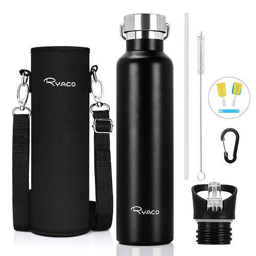 Ryaco Stainless Steel Water Bottle 560ml 750ml 1000ml