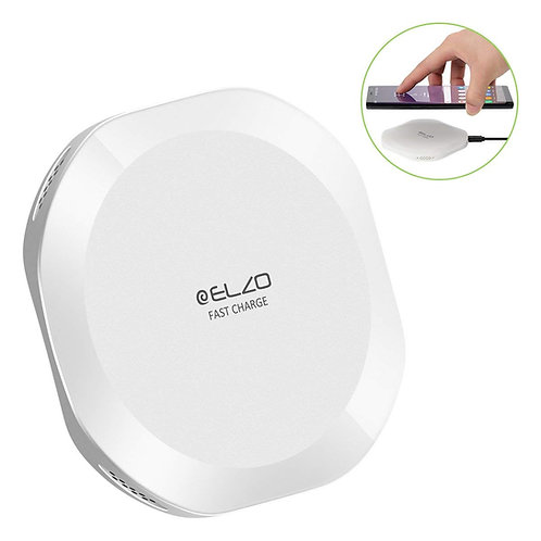 ELZO Wireless Charger, Qi-Certified Charging Pad