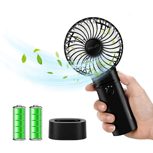 ELZO Handheld Electric Mini Portable Outdoor Fan