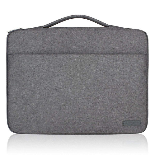 Arvok Water-resistant Canvas Fabric Laptop Sleeve with Handle & Zipper Pocket