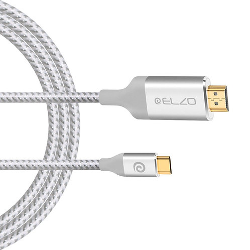 ELZO USB C to HDMI Cable(4K@60Hz)