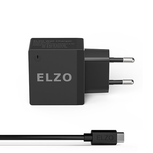Elzo Quick Charge 2.0 18W USB Rapid Wall Charger (Europe)