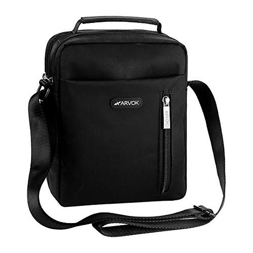 Arvok Shoulder Bag, Unisex Lightweight Crossbody Bags Water-resistant