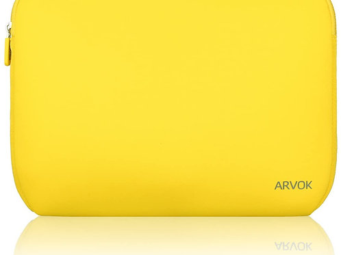 ARVOK 13-14 Inch Laptop Sleeve Case Yellow