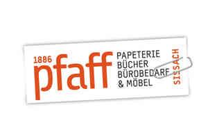 Papeterie Pfaff, Sissach: Logo