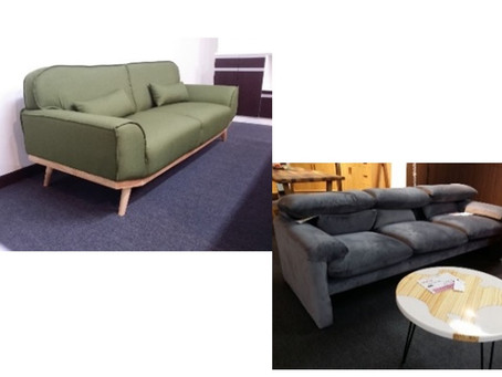 There are many nice sofas in this the shipping