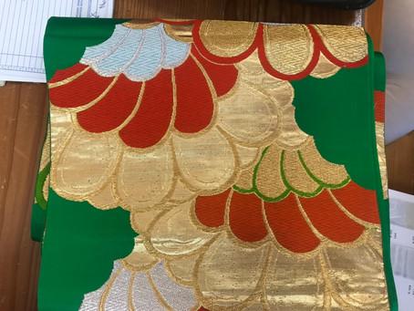 Japanese kimono belts