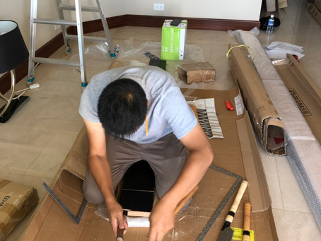 Japanese-style room construction