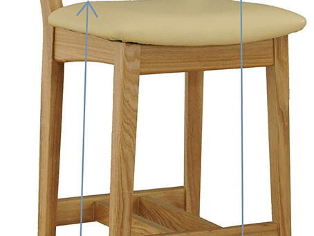 the seat height of the chair can be changed