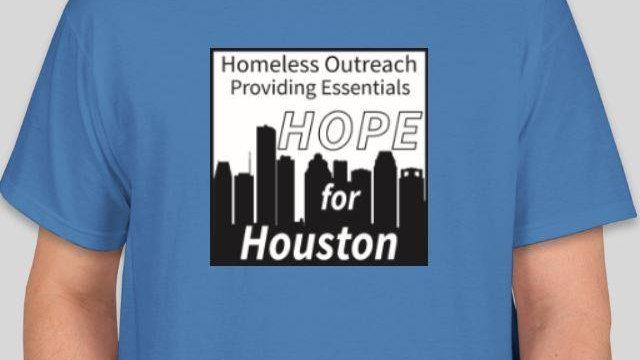 Blue HOPE for Houston T-Shirt