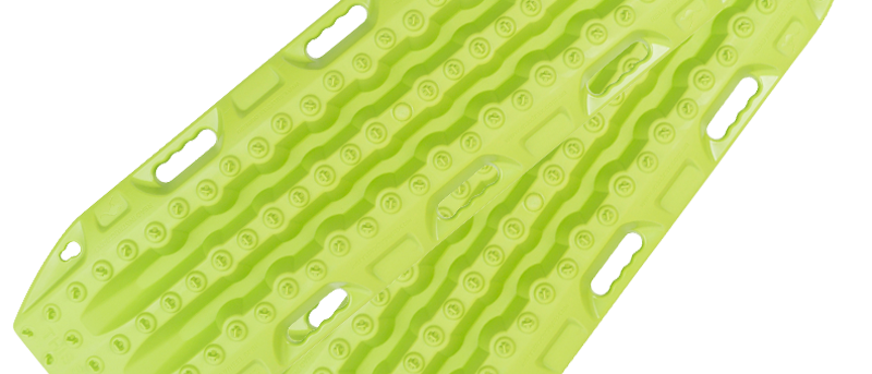 Maxtrax MKII 4WD Recovery Boards (Lime Green)