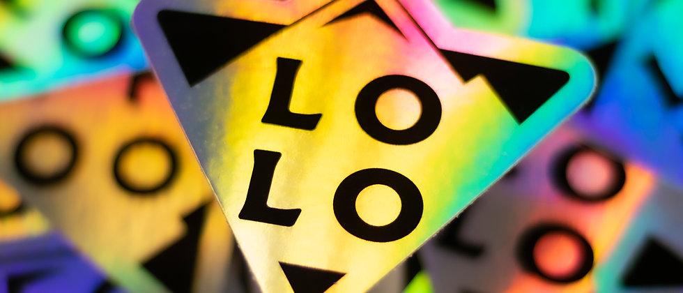Holo Icon Sticker by Lolo