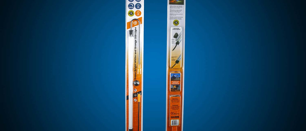 "19"" LED Light Bar w/ Removable Diffuser by HardKorr USA"