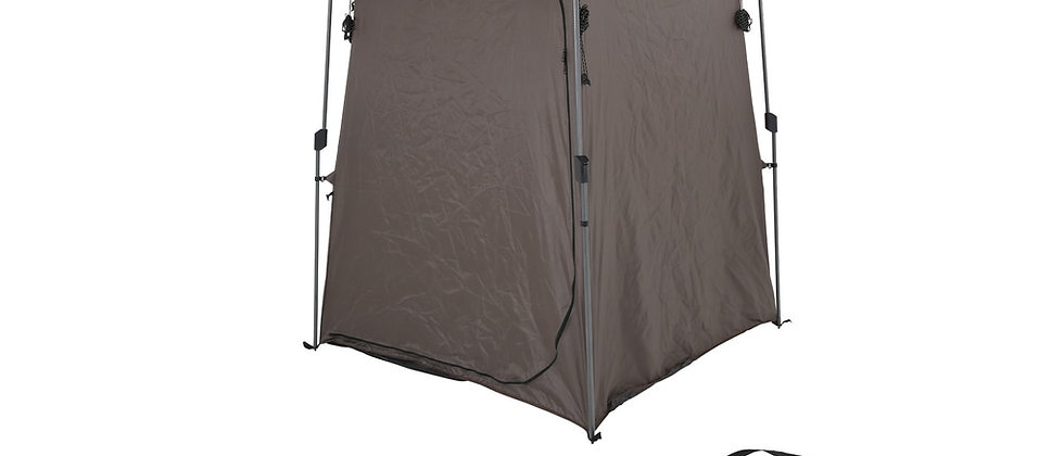 Portable Privacy Room with Shower, Retractable Floor, Amenity Pouches & More