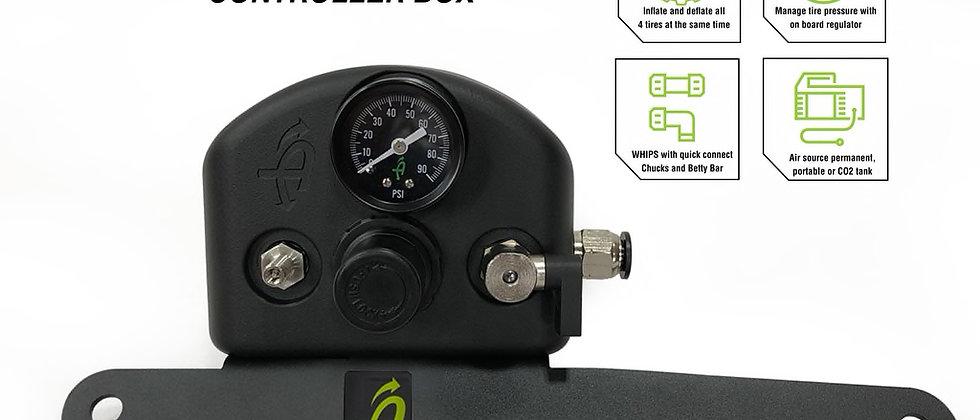 4 Tire Inflation System • Jeep Wrangler JL & JLU Engine Bay Passenger