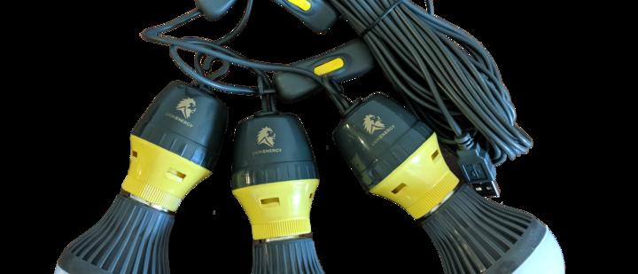 3 LED Light Bulb String
