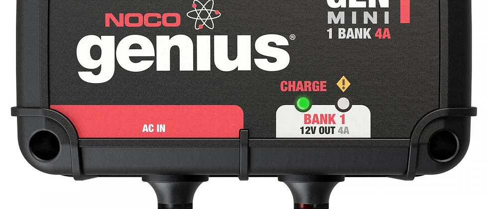 GENM1  1-Bank 4A On-Board Battery Charger by NOCO