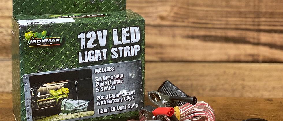 12V LED Light Strip & Switch by Ironman 4x4