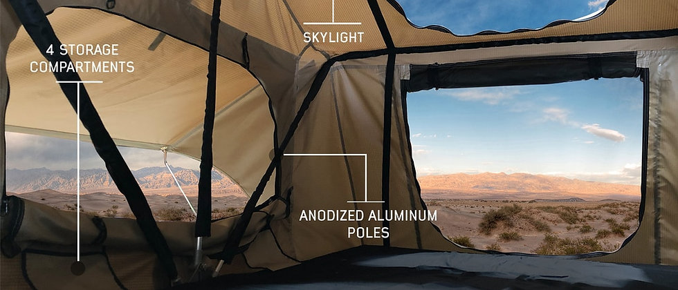 TMBK 3-Person Roof Top Tent by OVS