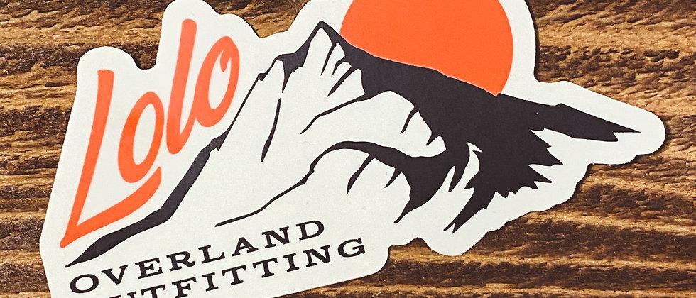 Mt. Lolo Sticker