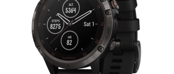 Fenix 5 Plus Sapphire Multisport GPS Watch by Garmin