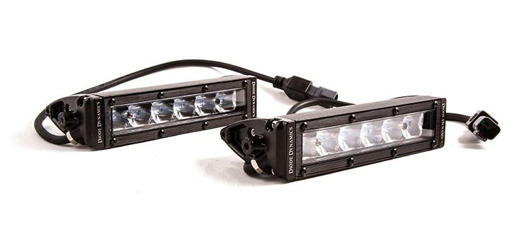"""Stage Series 6"""" SAE/DOT Light Bar (Pair) by Diode Dynamics"""
