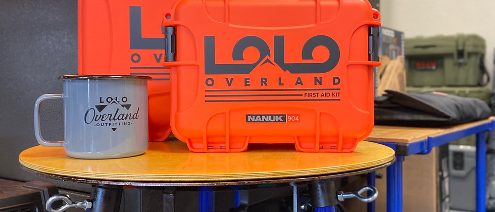 First Aid Kits by Lolo Overland