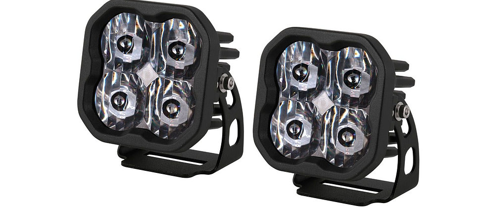 "Stage Series 3"" Pro SAE/DOT Pro White LED Pod ( Pair) by Diode Dynamics"