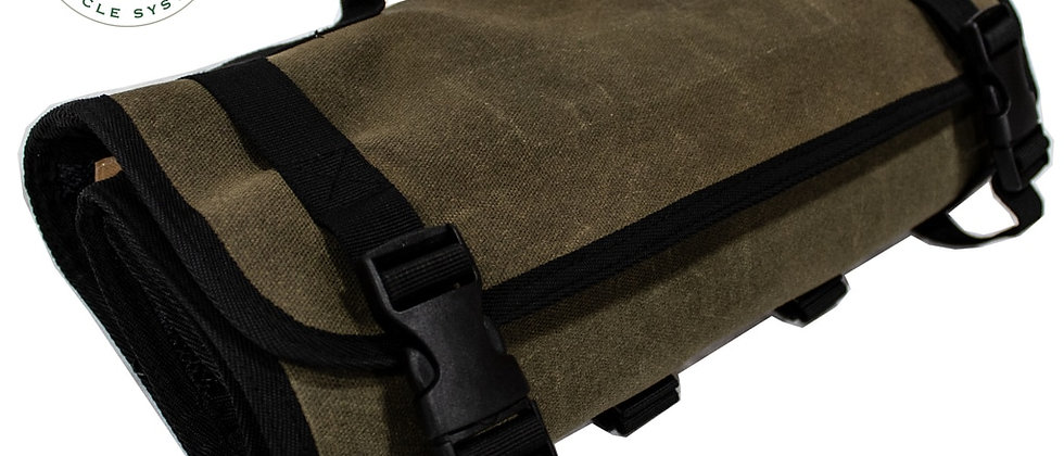 Universal Rolled Bag First Aid • #16 Waxed Canvas