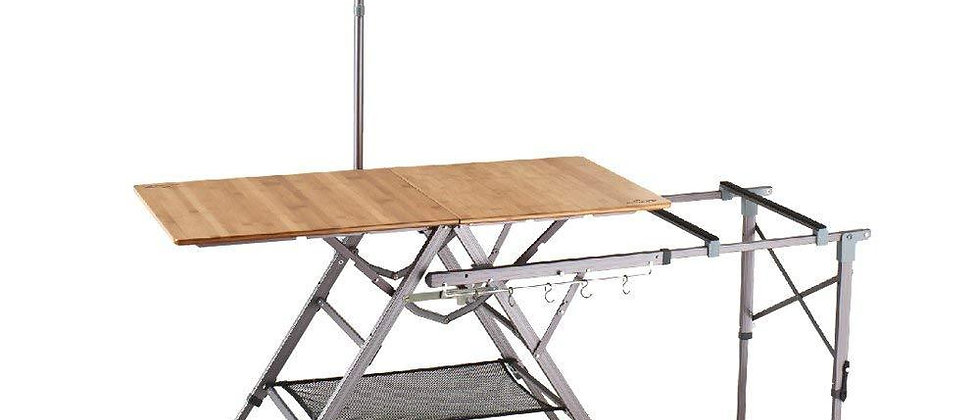Bamboo One-Action Kitchen Table