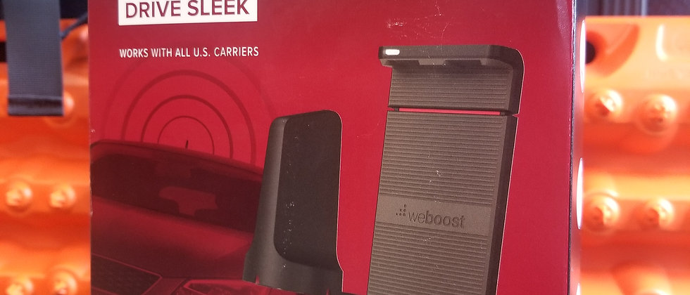 Drive Sleek Cell Phone Booster by WeBoost
