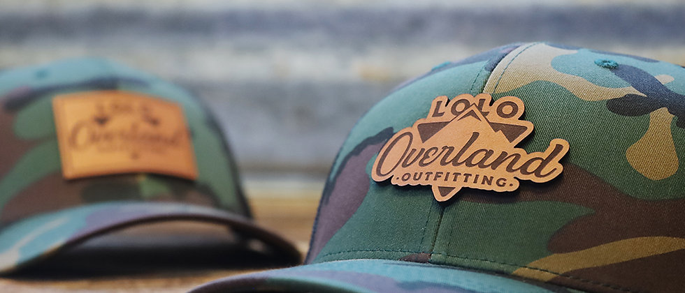 Camo/Black Trucker Hat by Lolo