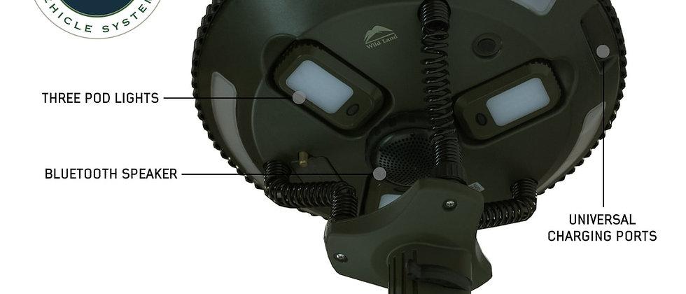Universal UFO Solar Light Light Pods & Speaker